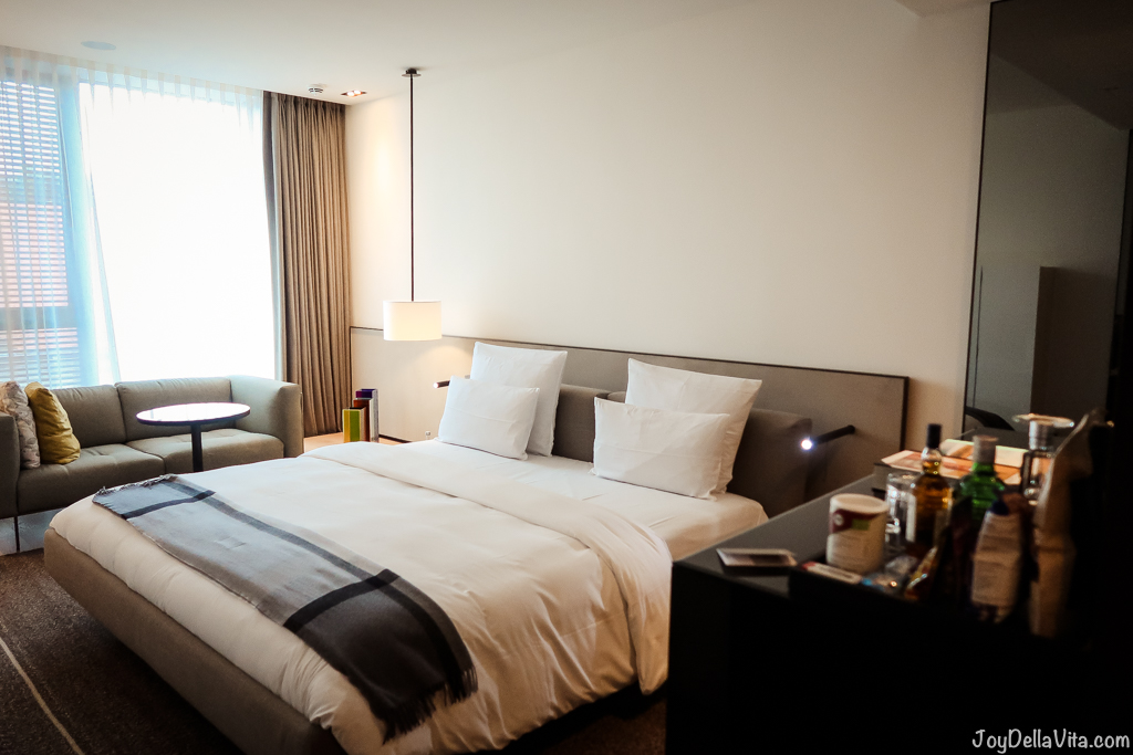 staying at the cheapest room at roomers design hotel baden