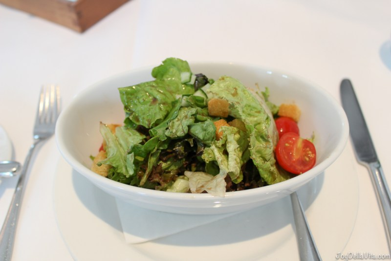 small mixed salad with cherry tomatoes & croutons Salon JB Messmer Dorint Maison Messmer Hotel Baden-Baden