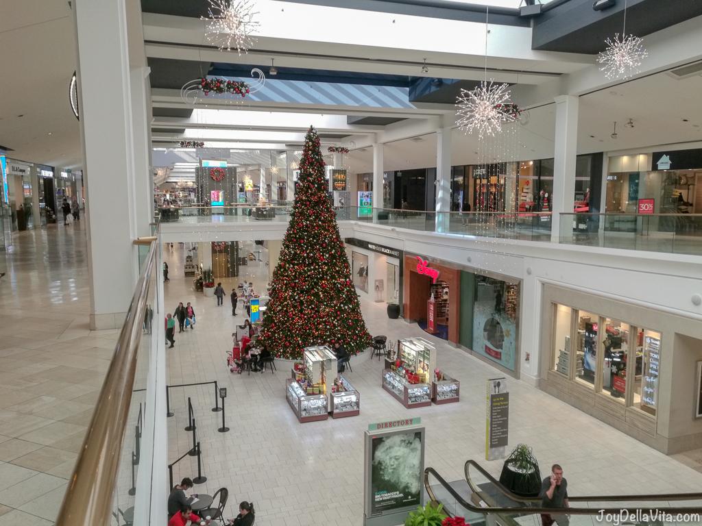 Christmas Tree at Westfield Fashion Square Sherman Oaks Los Angeles