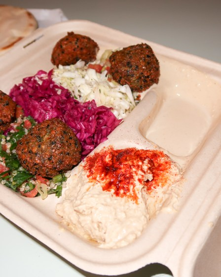 Falafel Plate Fala Bar West Hollywood Los Angeles uberEATS