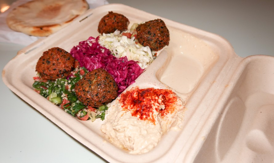 Falafel and Hummus by Fala Bar West Hollywood, ordered via uberEATS