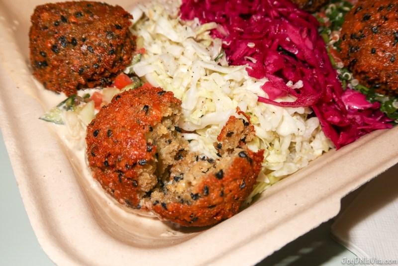 Crunchy Falafel by Fala Bar West Hollywood Los Angeles