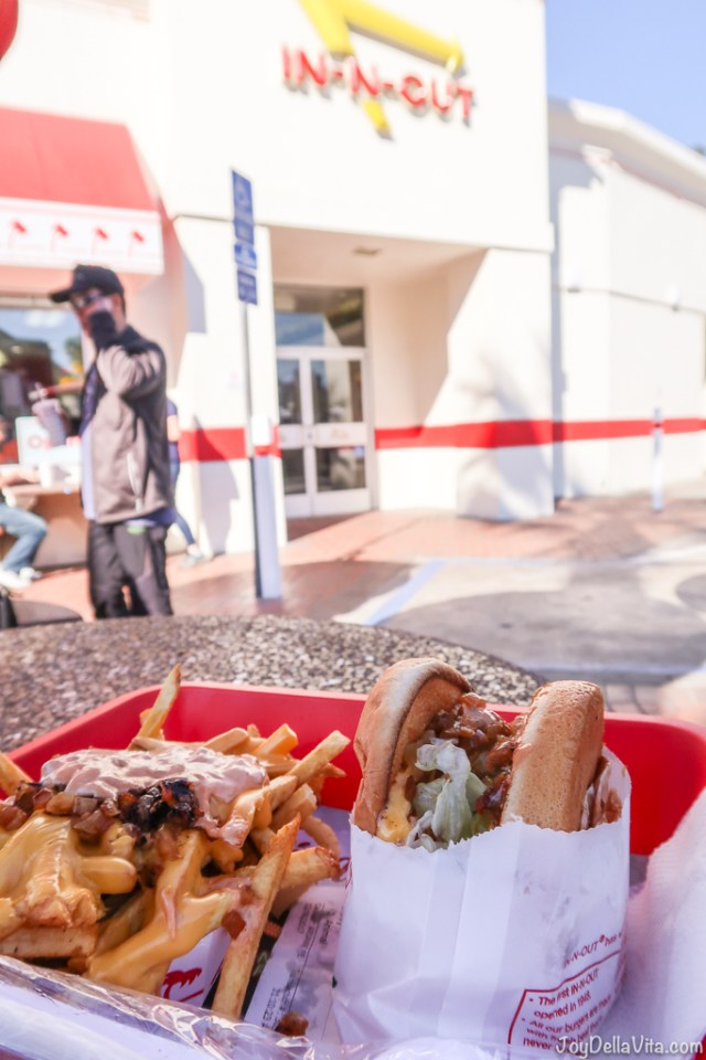 In-N-Out Grilled Cheese Fries Animal Style