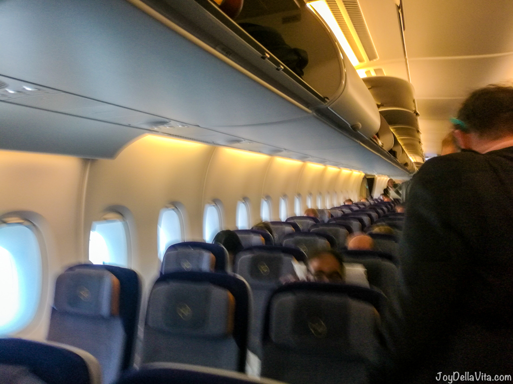 Lufthansa A380 Economy Class on LH456 from Frankfurt to Los Angeles