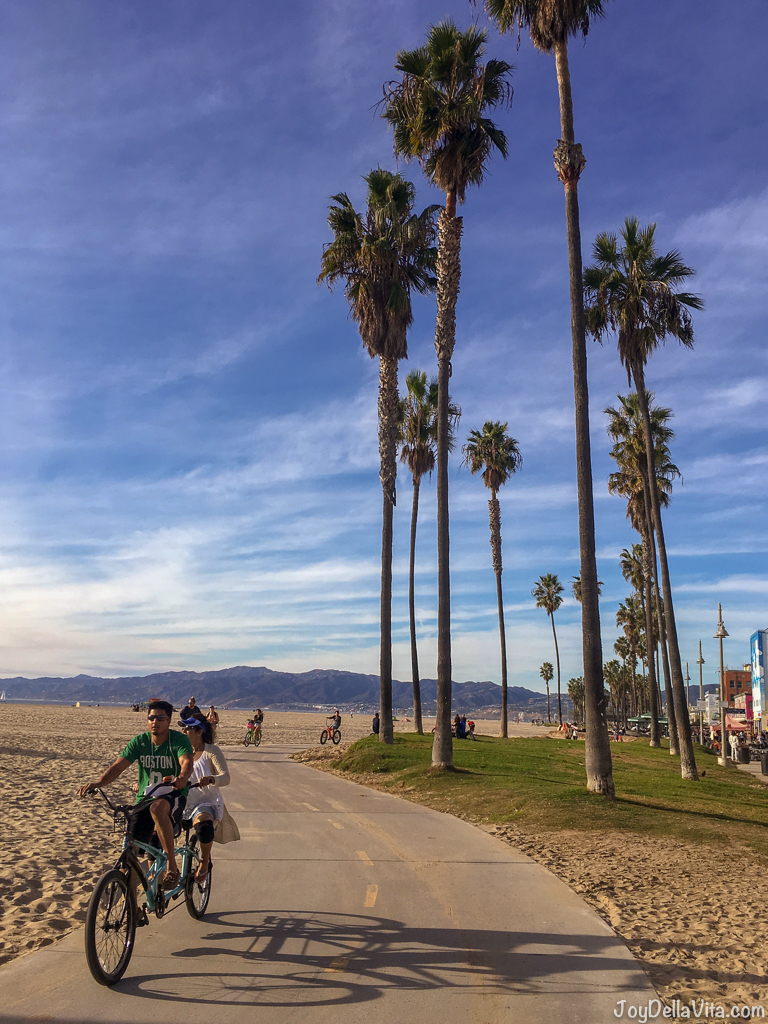 Venice Venice Beach December Walk Travel Blog Joy Della Vita
