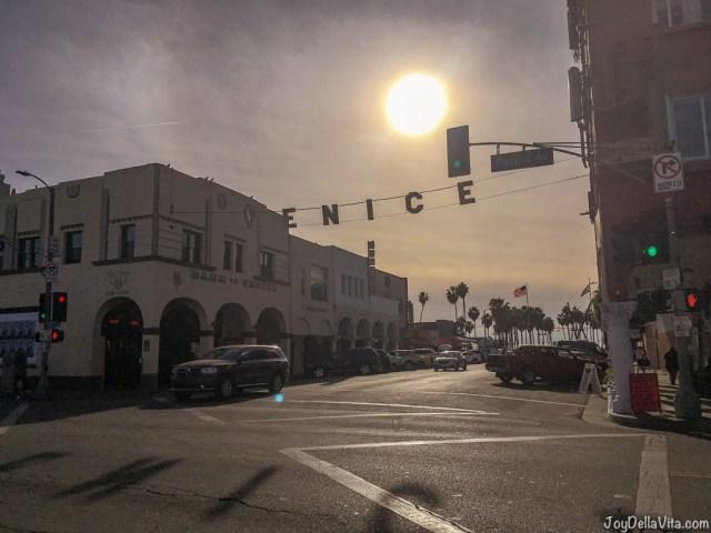 Venice Sign near Venice Beach