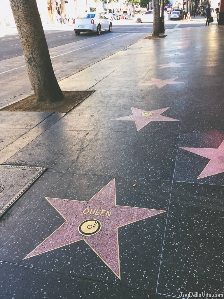 Queen Star on Walk of Fame