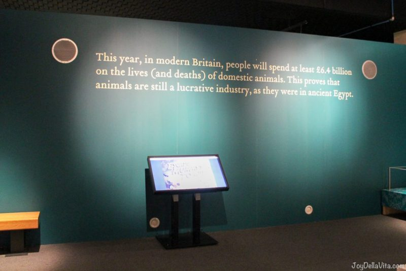 This year, in modern Britain, people will spend at least 6.4 billion pounds on the lives (and deaths) of domestic animals. This proves that animals are still a lucrative industry, as they were in ancient Egypt.