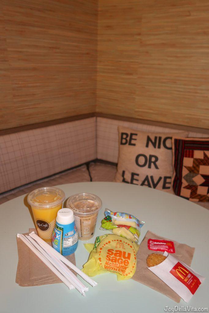 My McDonalds McDelivery Breakfast Order in Los Angeles