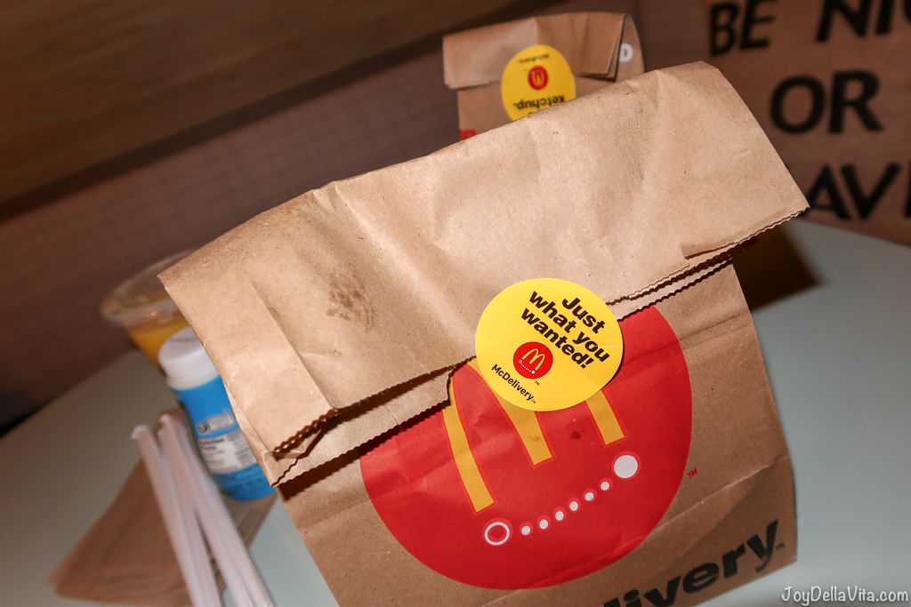 McDonalds McDelivery - Just what you wanted!