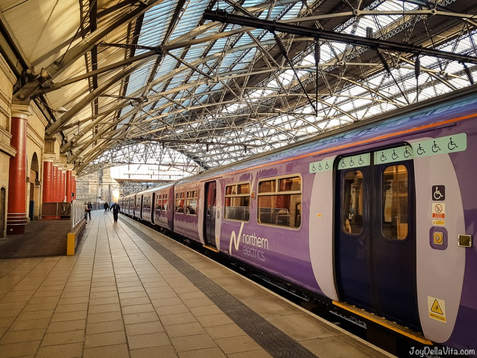 Northern Line Train departing from Liverpool Lime Street Station