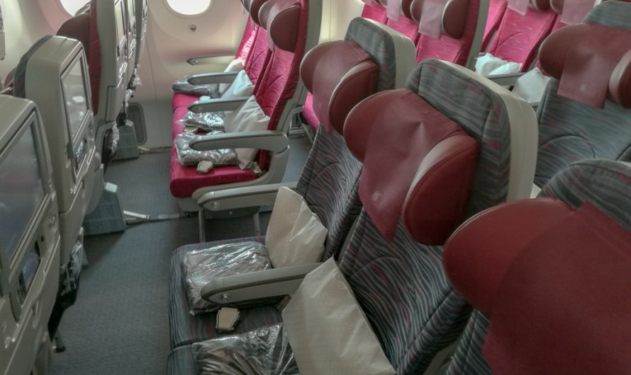 Qatar Airways Flight Review: Munich – Doha (Economy Class) | Boeing 787 Dreamliner