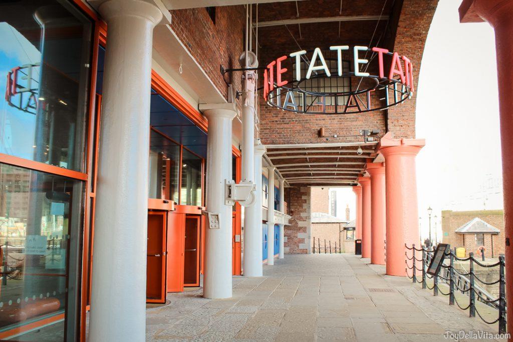 TATE Art Museum Liverpool Albert Dock