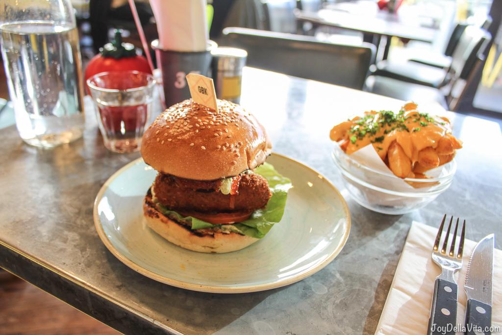 Veg Out Veggie Burger Gourmet Burger Kitchen Liverpool