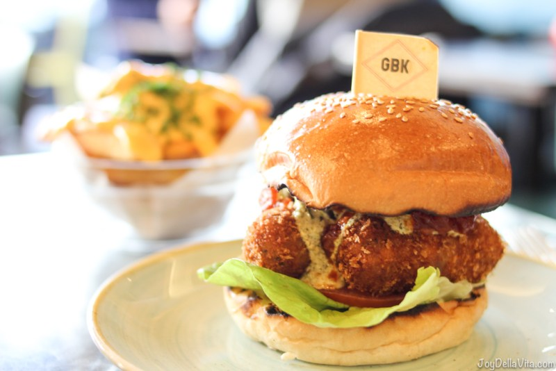 Veg Out Veggie Burger GBK Gourmet Burger Kitchen