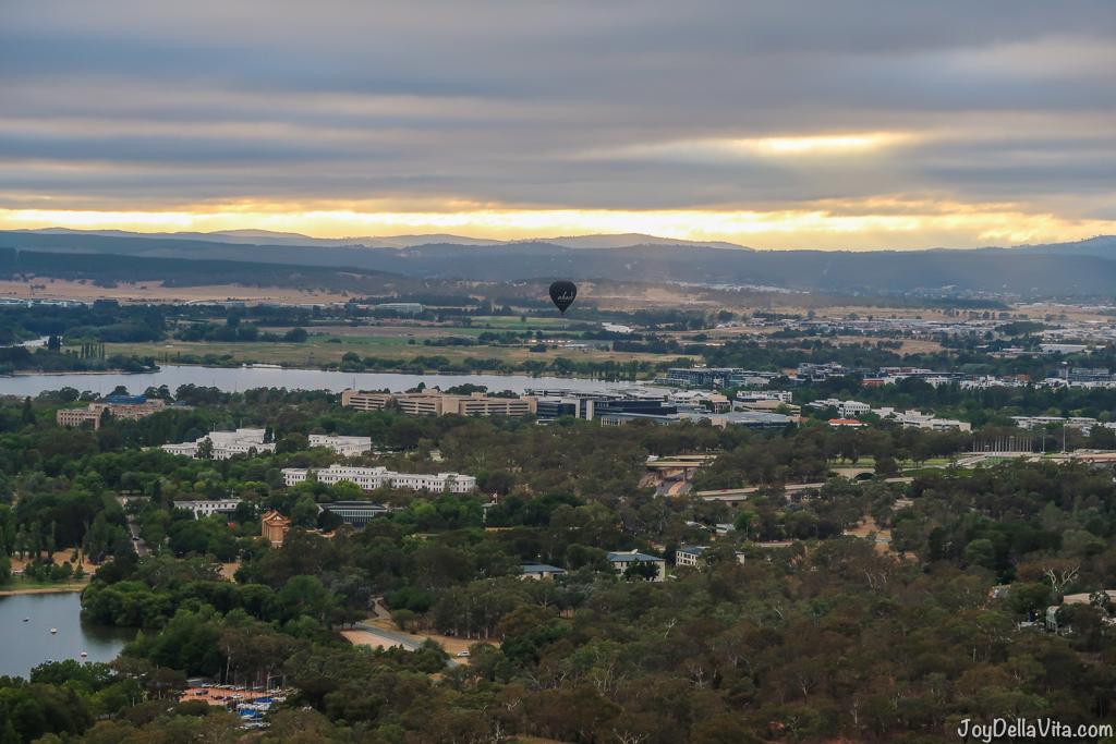 Hot Air Balloon Flight Canberra Balloon Aloft CanberraTogether Blog JoyDellaVita