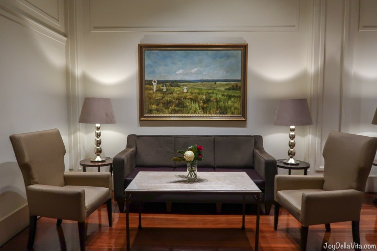 Staying at the famous Hyatt Hotel Canberra in Canberra, Australia