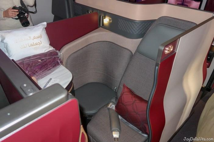 Qatar Airways Qsuite Business Class Review Travelblog JoyDellaVita