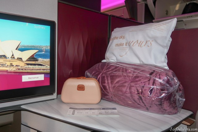 Qatar Airways Qsuite Business Class Review Travelblog JoyDellaVita
