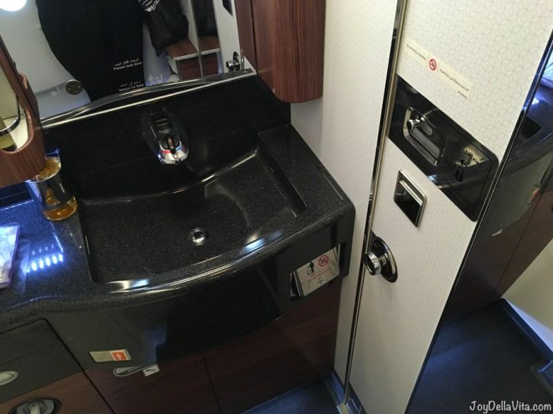 Qatar Airways QSuite Business Class Bathroom