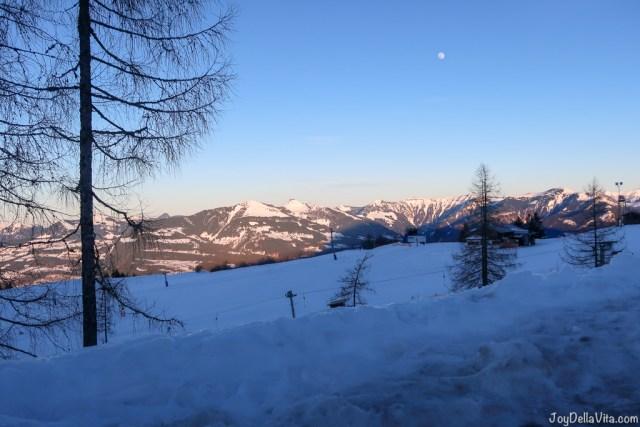 Ski Skiing Rossfeld Panoramastrasse Berchtesgaden Winter