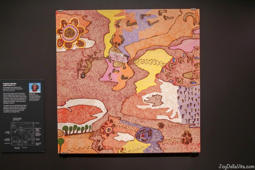 Aboriginal Art at National Museum of Australia, Canberra