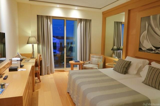 Deluxe Room  Balneario Las Arenas Valencia 5 Star Beach Hotel joyDellaVita