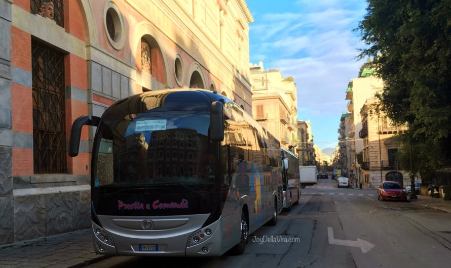 Palermo Airport Bus Transfer to Palermo City Centre – my experience