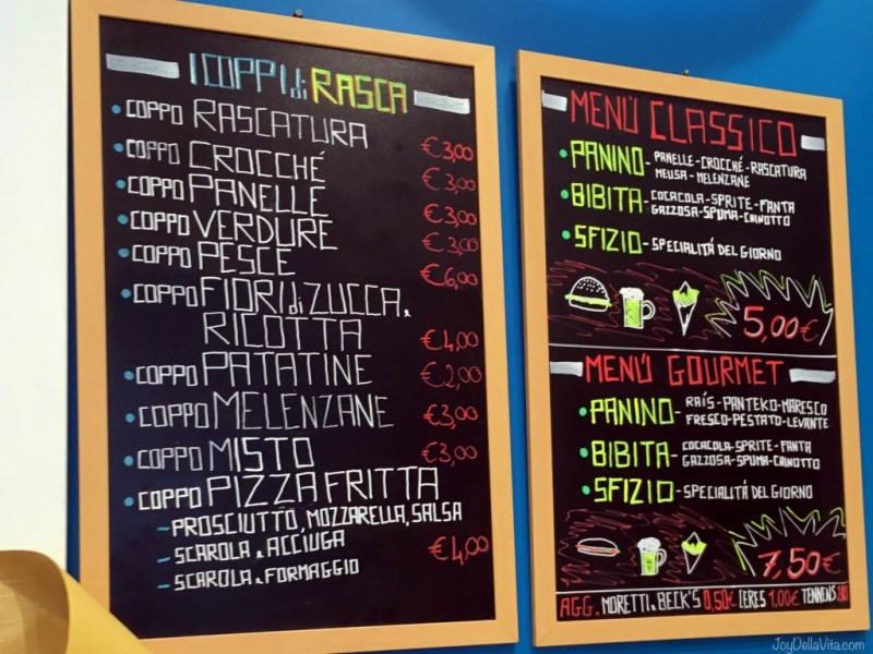 Rasca Palermo Menu Prices