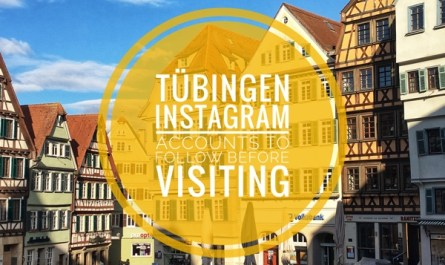 Instagram Accounts to follow before visiting Tübingen in southern Germany
