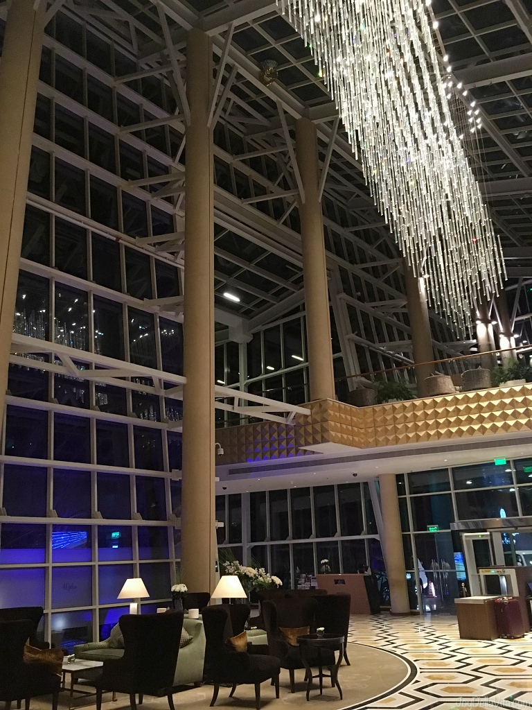 Intercontinental The City Doha West Bay Qatar Travel Blog JoyDellavita