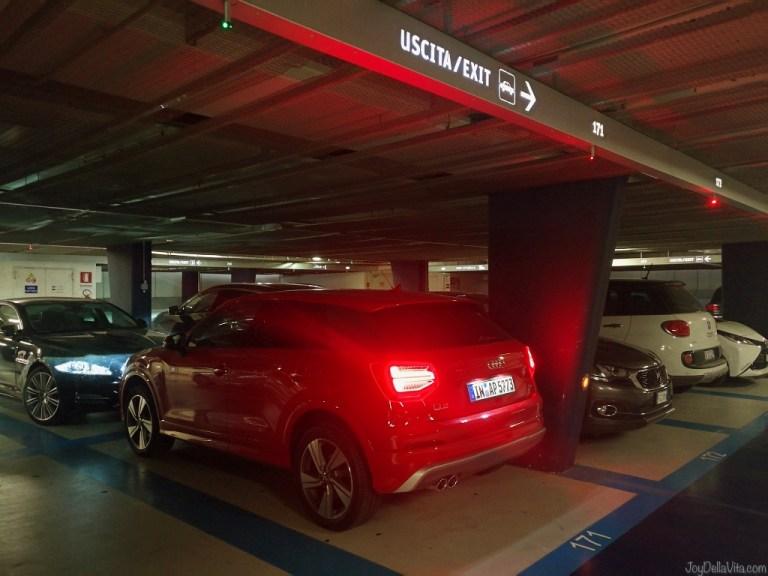 Where to park your car in Verona City Centre (near Arena di Verona)