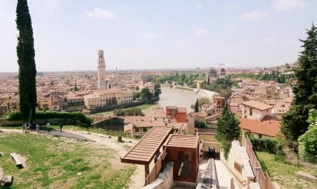 Funicolare di Verona Castel San Pietro Veronetta Travel Blog JoyDellaVita