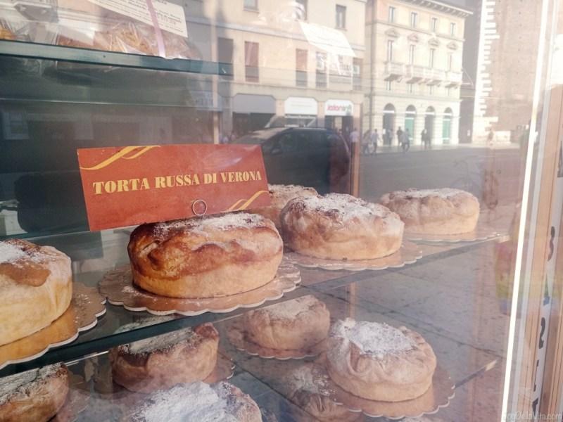 Veronese Dessert speciality Torta Russa di Verona