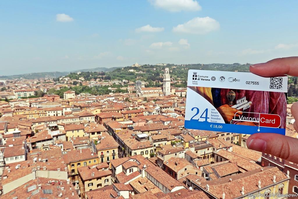 Verona Card Selling Points Where to buy Travel Blog Joy Della Vita