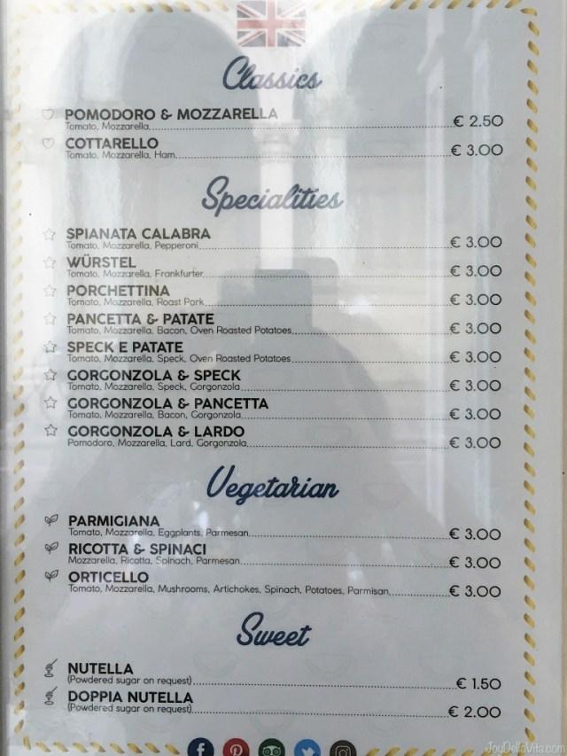 Products and Prices daPrette Padova Padua