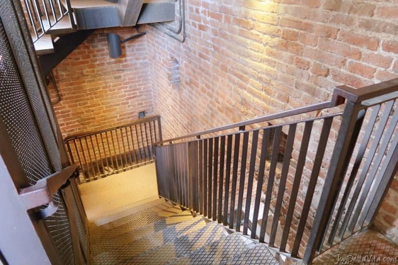 Stairs inside Torre dei Lamberti Verona