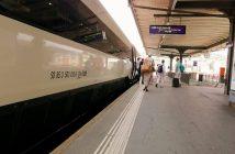 Lugano Train Station EuroCity