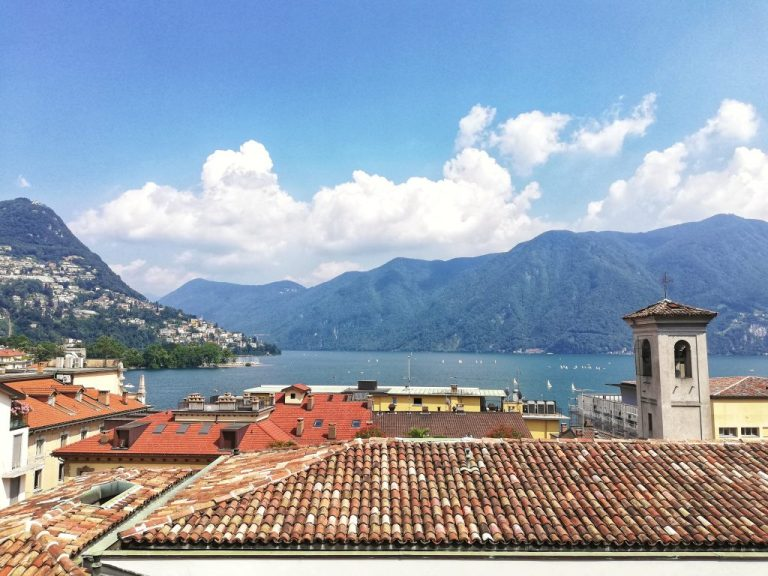 What language is spoken in Lugano?