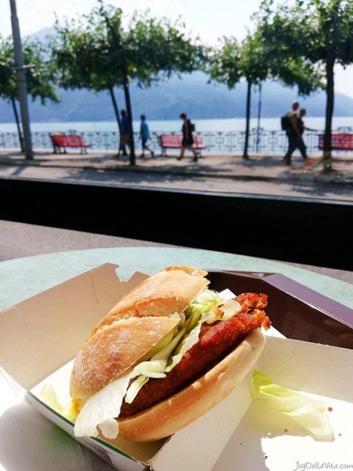 McDonalds Switzerland Mc Quinoa Curry Veggie Burger Lugano McD