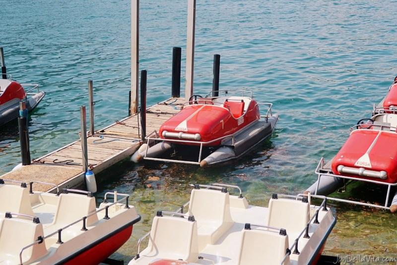 Piccolo Pedalò for rent in Lugano