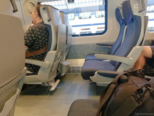 SBB EuroCity Zurich Lugano Review Travel Blog JoyDellaVita