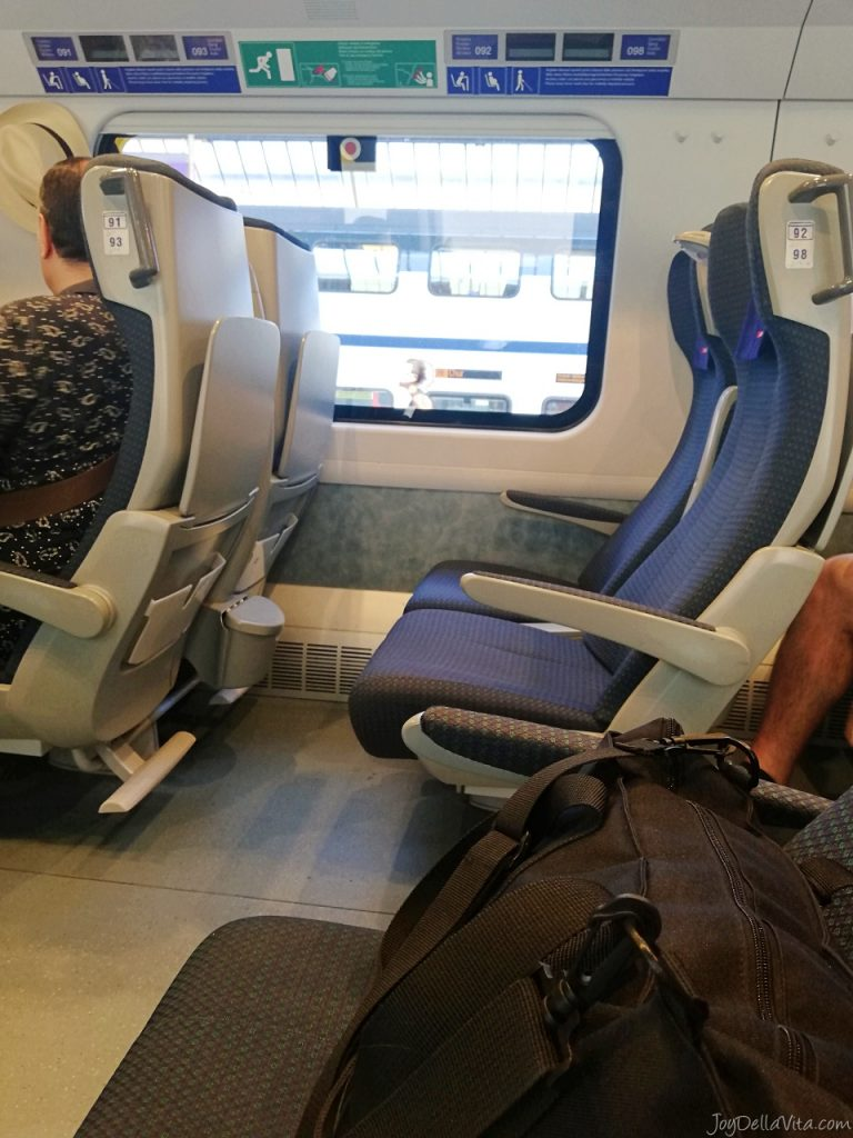 SBB Review: EuroCity Train from Zurich to Lugano in 2nd class - Joy