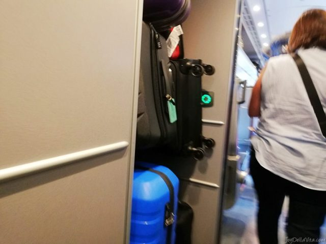 luggage storage SBB EuroCity Zurich Lugano Review Travel Blog JoyDellaVita