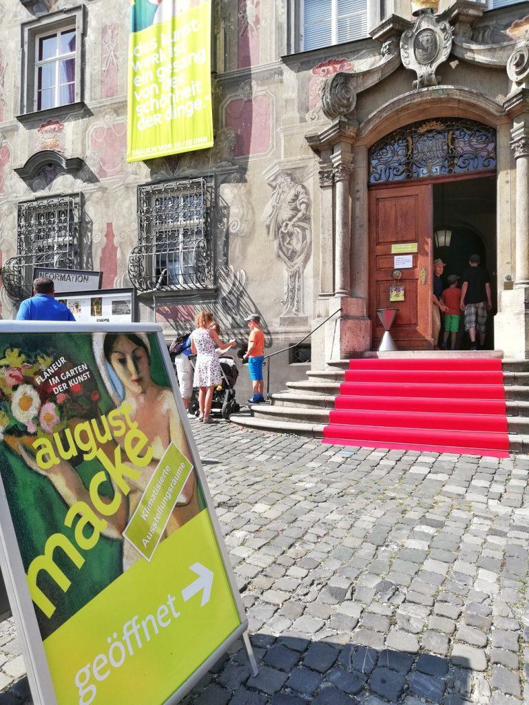 August Macke exhibition at Stadtmuseum Lindau