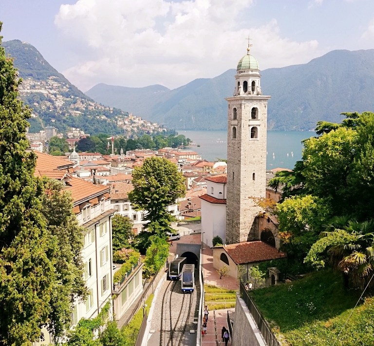 Places with a view in Lugano
