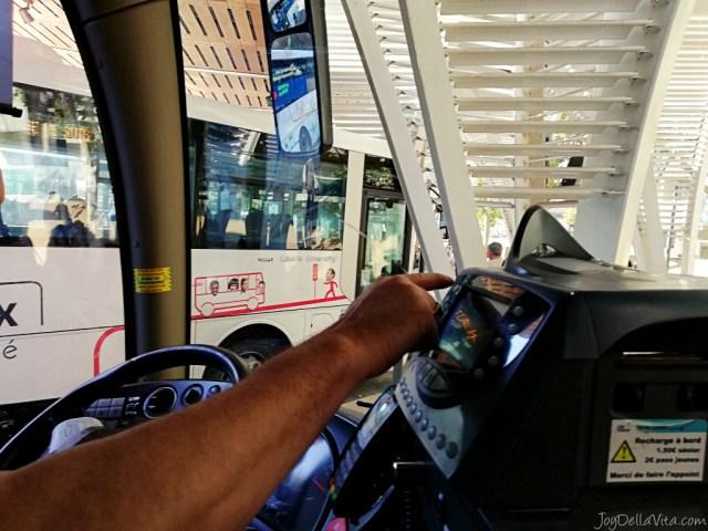 AixenProvence STation TGV Gare Aix Bus travelblog review