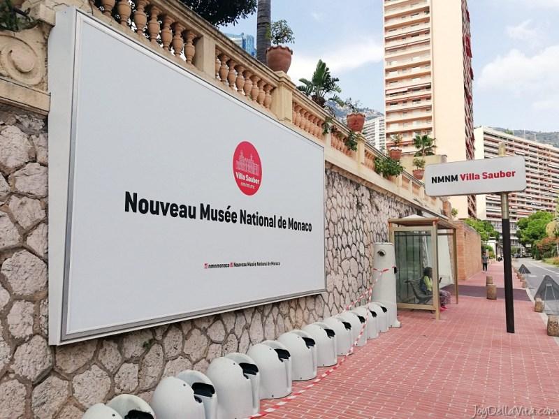 Art Museum Villa Sauber Monaco NMNM french monaco monte carlo travel blog