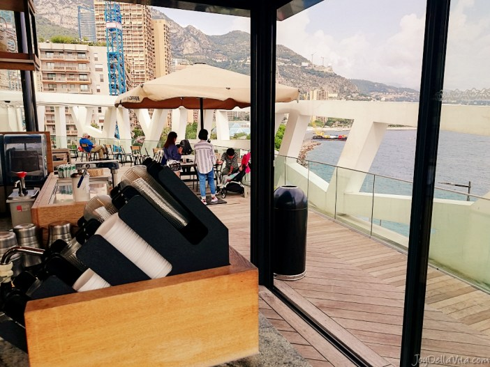 starbucks monaco fairmont with a view