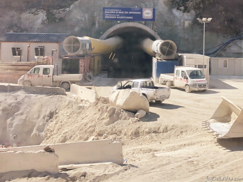 Construction Brenner Base Tunnel South Tyrol